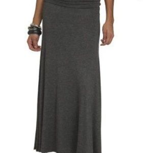 WET SEAL GREY MAXI SKIRT